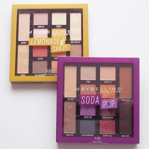 Maybelline Lemonade Craze & Soda Pop Eyeshadows